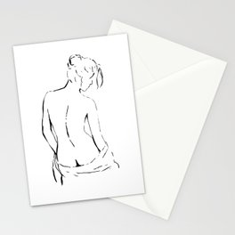 Nude 4 Stationery Cards