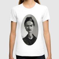 frida kahlo T-shirts featuring Frida Kahlo by Kostas Roussos