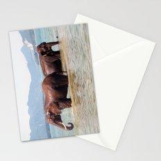 Elephants II Stationery Cards