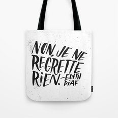 Edith Piaf Tote Bag