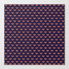 Geometric Butterfly pattern Canvas Print