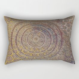 Black Sun III Rectangular Pillow