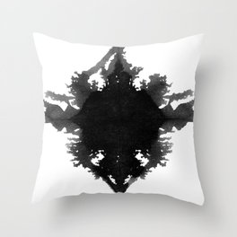 Rorschach    Throw Pillow