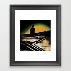 First Light Of A New Dawn Framed Art Print