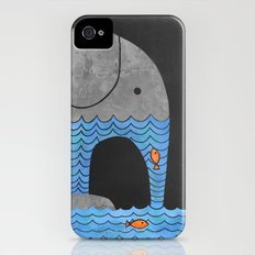 Thirsty Elephant  Slim Case iPhone (4, 4s)