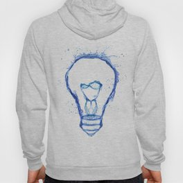 Water splash Bulb Hoody