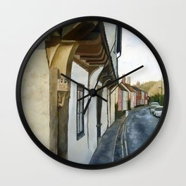 Barn Lane Wall Clock