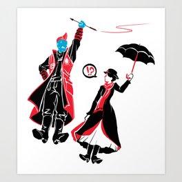 I'm Marry Poppins y'all! Art Print