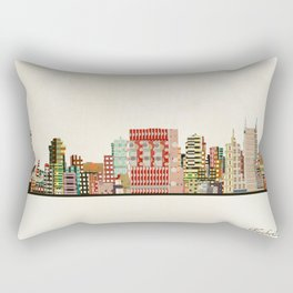 nashville tennessee skyline Rectangular Pillow