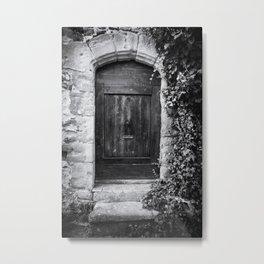 Doors of the World   Wooden Door in France, Europe   Black & White   Travel Photography   Photo Print   Art Print Metal Print