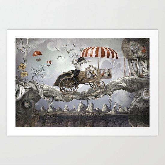 Bird Seller Art Print