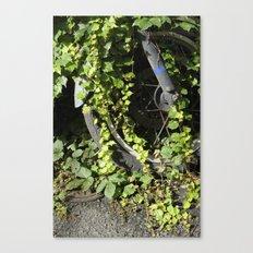 The Green Wheel Canvas Print