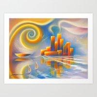 Dream City Art Print