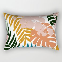 Palms & Bloom Rectangular Pillow