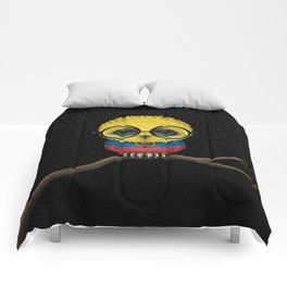 Baby Owl with Glasses and Ecuadorian Flag Comforters