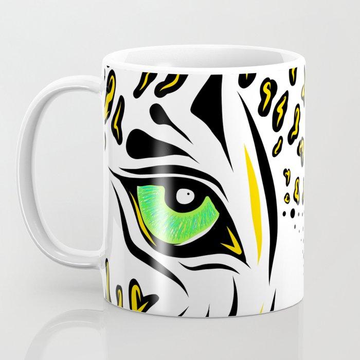 Leopard Eyes Print Coffee Mug