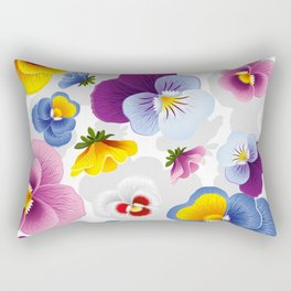 Bloom Floral Rectangular Pillow