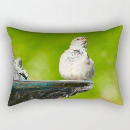 Hot day Rectangular Pillow