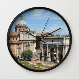 Roman Forum (Rome, Italy) Wall Clock