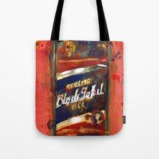 Black Label Bottle Beer Tote Bag