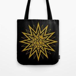 Star (gold) 002 Tote Bag