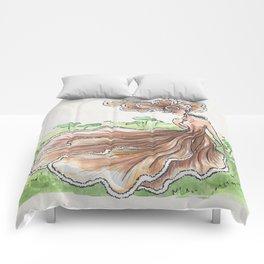 Empire of Mushrooms: Schizophyllum commune Comforters