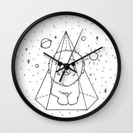 Shih Tzu Galaxy Wall Clock