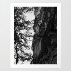Around the corner Art Print