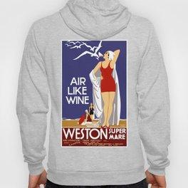 Vintage Weston Super Mare England Travel Hoody