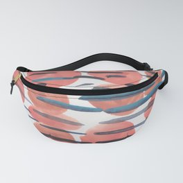 25   | 190408 Red Abstract Watercolour Fanny Pack