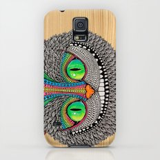 Alice´s Cat Wood Galaxy S5 Slim Case