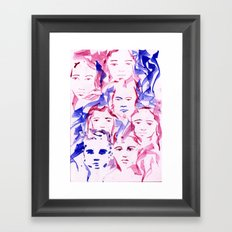 ROSTROS Framed Art Print