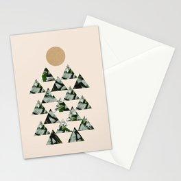 Tropical & Geometry II Stationery Cards