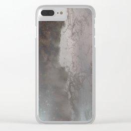 negative sea Clear iPhone Case