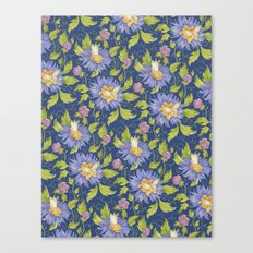 Watercolor pattern Canvas Print