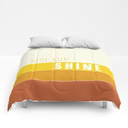 Rise and Shine Sunrise Stripes Comforters