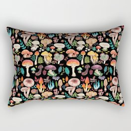 Mushroom heart Rectangular Pillow