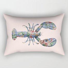 FLORAL LOBSTER Rectangular Pillow