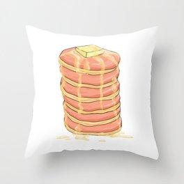 PANCAKES WITH HONEY Throw Pillow