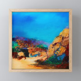Early Morning Over the Canyon Framed Mini Art Print