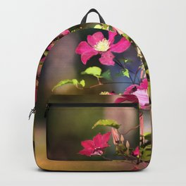 Clematis in Shade Backpack