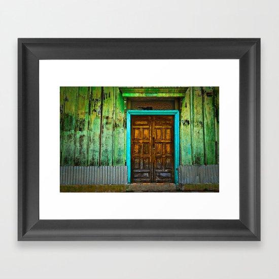 Doorways II Framed Art Print