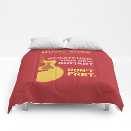 Don't FRET — Music Snob Tip #614 Comforters