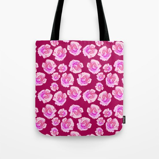 Blushing Roses Tote Bag