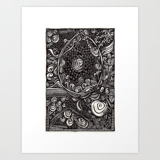 Advent Art Print