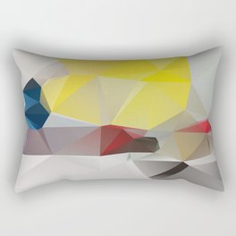 Because the music that they constantly play IT SAYS NOTHING TO ME ABOUT MY LIFE Rectangular Pillow