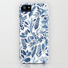 indigo scatter iPhone (5, 5s) Slim Case