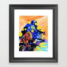 beautiful in liquid Framed Art Print