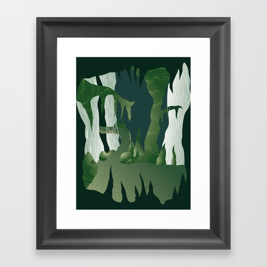 Shenmue - The Great Stone Pit Framed Art Print