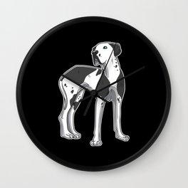 Great Dane Dog Gift Idea Funny Wall Clock
